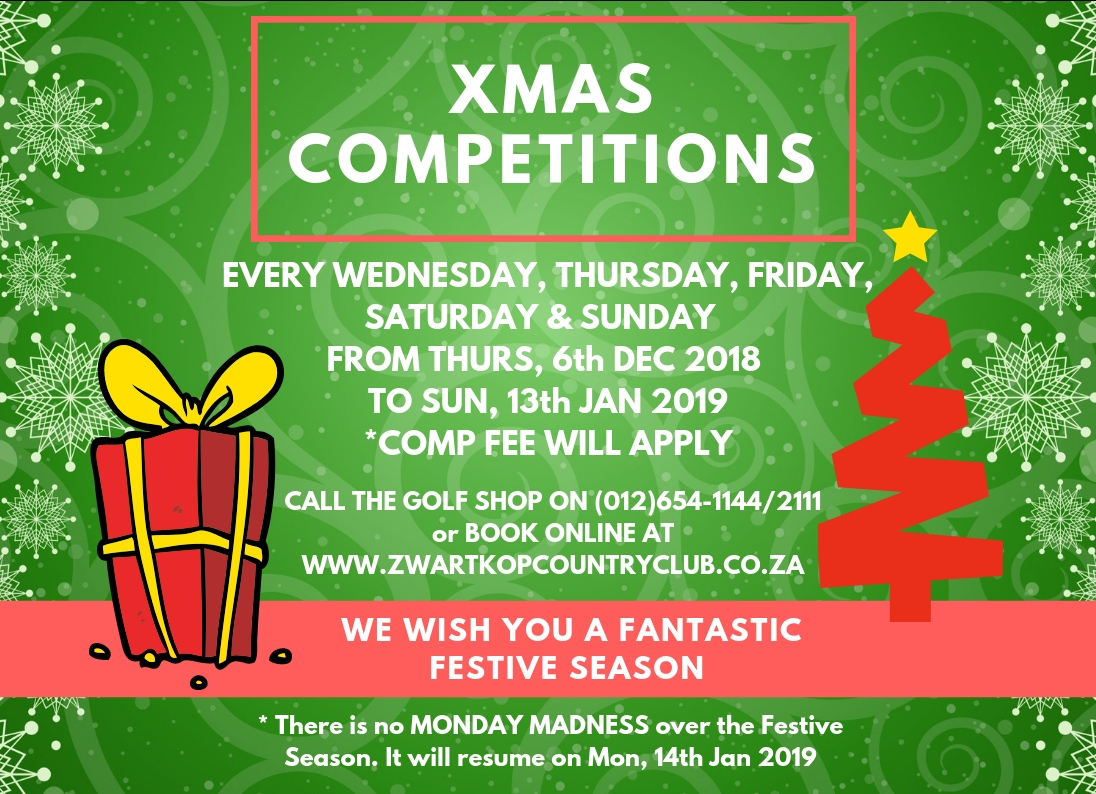 Xmas Competitions