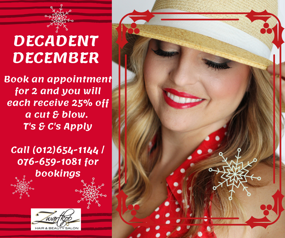 December Special in the Salon