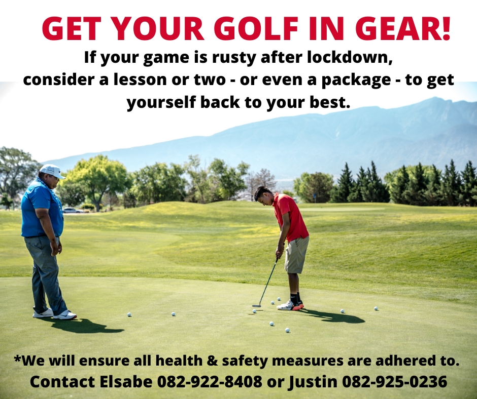 Get Your Golf in Gear