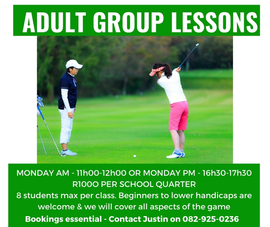 Adult Group Classes